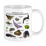 Animals of the Flooded Amazon Rainforest Mug