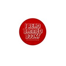 """I Read Banned Books"" Mini Button (10 pack)"