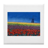 tulips Tile Coaster