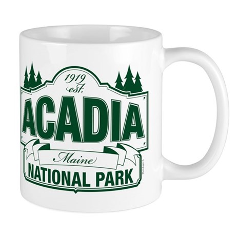 Acadia National Park Mug