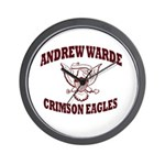 Andrew Warde High School Wall Clock