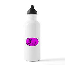 Oval Pink 3.1 Water Bottle