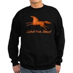 chestnut mare horse apparel Sweatshirt (dark)