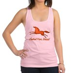 chestnut mare horse apparel Racerback Tank Top