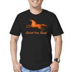 chestnut mare horse apparel Men's Fitted T-Shirt (