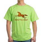 chestnut mare horse apparel Green T-Shirt