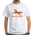 chestnut mare horse apparel White T-Shirt