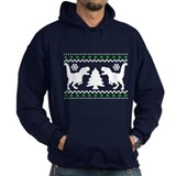FUNNY! Ugly Holiday T-Rex Sweater Hoodie