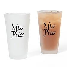 Miss Priss Drinking Glass