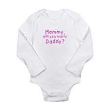 Mommy will you marry daddy? Body Suit