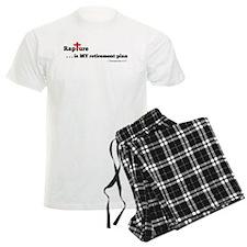 Rapture is MY retirement plan Pajamas