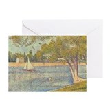 Seurat Grande Jatte Greeting Cards (Pk of 20)