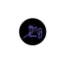 Kokopelli Wakeboarder Mini Button (10 pack)