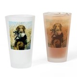 Unique Chesapeake bay retriever Drinking Glass