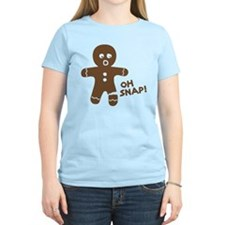 Oh Snap Gingerbread T-Shirt T-Shirt