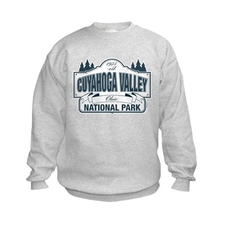Cuyahoga Valley National Park Kids Sweatshirt