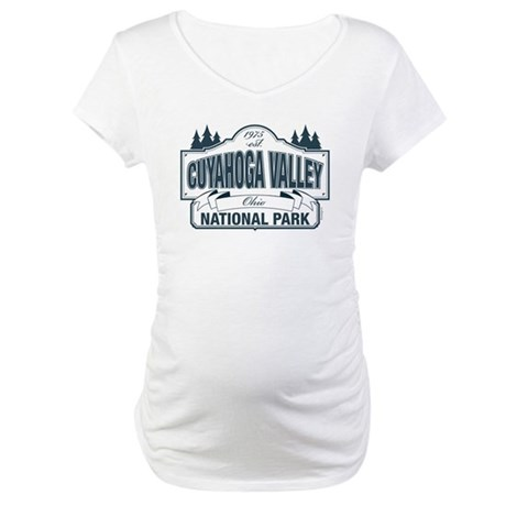 Cuyahoga Valley National Park Maternity T-Shirt