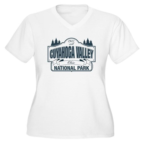 Cuyahoga Valley National Park Women's Plus Size V-