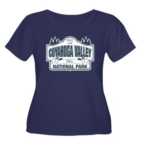 Cuyahoga Valley National Park Women's Plus Size Sc