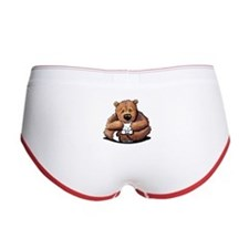 Kitty Bear Hug Women's Boy Brief