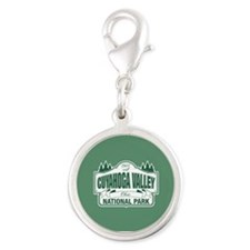 Cuyahoga Valley National Park Silver Round Charm