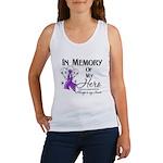 In Memory Alzheimers Women's Tank Top