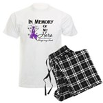 In Memory Alzheimers Men's Light Pajamas