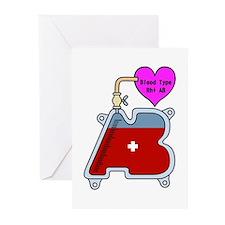 Blood type AB Greeting Cards (Pk of 20)