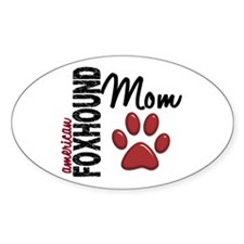 American Foxhound Mom 2 Decal