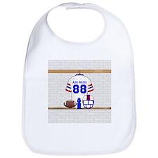 Personalized American Football Grid Iron WRB Bib
