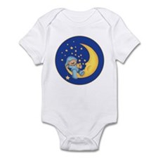 Blue Starlite Bear Infant Bodysuit