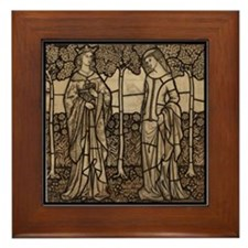 Ladies of the Court Framed Tile