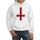 Upside Down Cross  Hoodie