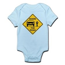 Share the road Infant Bodysuit