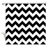 chevron-pattern_12x12.png Shower Curtain