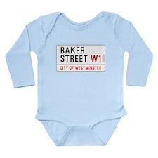 Baker Street W1 Long Sleeve Infant Bodysuit