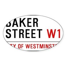 Baker Street W1 Decal