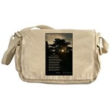 Trees by Joyce Kilmer Messenger Bag