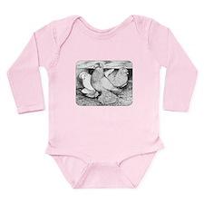 Russian Tumblers 1984 Long Sleeve Infant Bodysuit