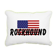 American Rockhound Rectangular Canvas Pillow