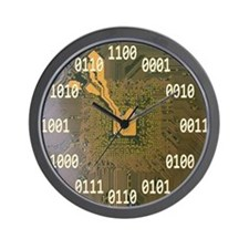 Funny Laboratory Wall Clock