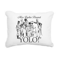 Lydia Bennet YOLO Rectangular Canvas Pillow