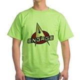Picard Engage Badge T-Shirt