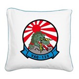 vaq130_sun_japan.png Square Canvas Pillow