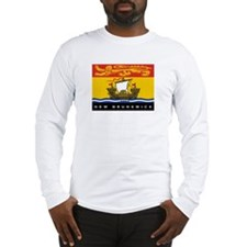 New Brunswick Flag Long Sleeve T-Shirt