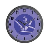 Unique Gymnastics Wall Clock