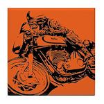 CAFE RACER NORTON Tile Coaster