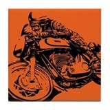 CAFE RACER NORTON Tile Coaster