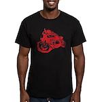 CAFE RACER NORTON Men's Fitted T-Shirt (dark)