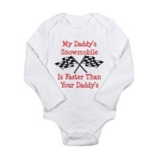 Daddys Snowmobile Is Fast Body Suit